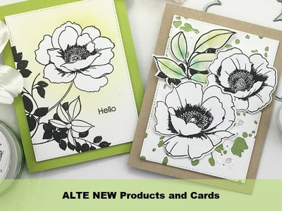 Altenew Wall Paper Art Cards
