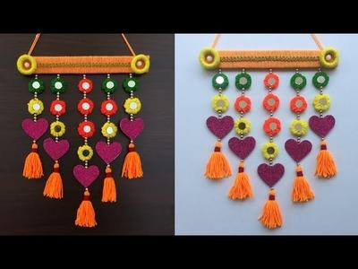 Amazing Woolen crafts Ideas | Door Toran Making | DIY Room Decor | Wall Hanging