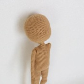 Basic Doll Body with moving head &arms - AMIGURUMI pdf pattern