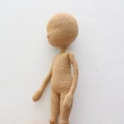 Basic Doll Body with moving head &arms - AMIGURUMI pdf pattern