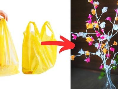 Beautiful Decor Idea using Carry Bags | DIY Home Decor Idea | Simple Decor Idea