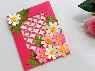 Beautiful Handmade Birthday card.DIY Gift idea.