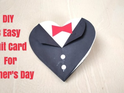 DIY 3 Suit-Tuxedo Card for Father's Day.Father's Day Greeting Card Ideas