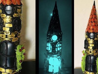 Diy - bottle lamp | glass bottle decoration ideas | Fashion pixies | decoration ideas | bottle diy