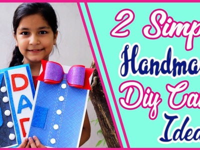 DIY Card For Fathers Day. Fathers Day Card Idea. Aishmin diy