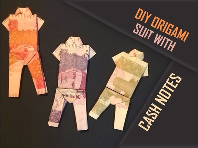DIY cash NOTES outfit | Origami |Easy