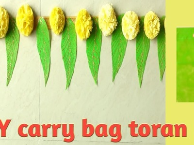 DIY.cloth carry bag craft idea.door toran making.home decoration ideas.