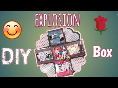 DIY Explosion Box. Box full of memories. Gift for loved ones. Gift for Anmol Kc. Love Box