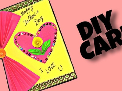 DIY: FATHER'S Day Card || happy Father's day card || DIY Gift to Father || Paper Card ||  V-19