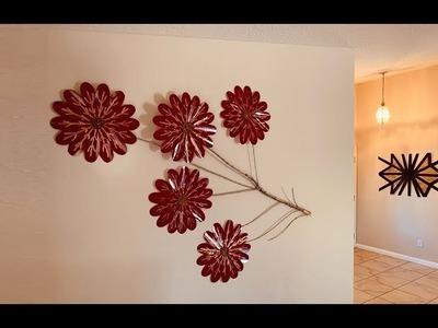 DIY: Flower Tree Branch Wall Decor