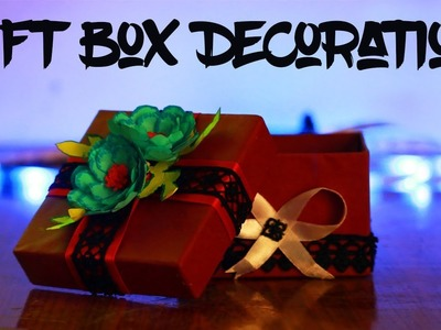 DIY gift box decoration