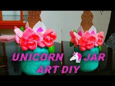 Diy unicorn mason jar centerpieces.simply home decor. crafito art &craft