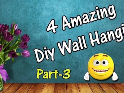 Diy Wall Hanging | Beautiful Wall Decoration Ideas Part-3 | Tahiya Crafty Creation