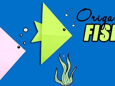 Easy #origami #paper Fish - Cute origami