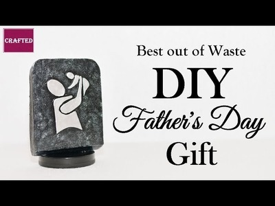 FATHER'S DAY GIFT idea | DIY Father's day Gift | Dad & Baby granite carving lookalike DIY |