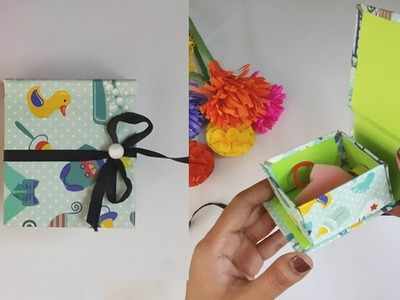 How To Make Gift Box | DIY Gift Box | Surprise Gift Box