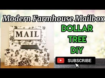 MODERN FARMHOUSE MAILBOX. Dollar Tree DIY