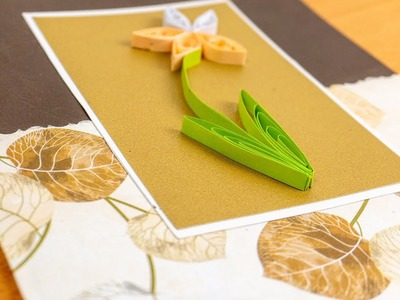 MODERN Greeting CARD iDEAS: DIY Handmade with Quilling Papers