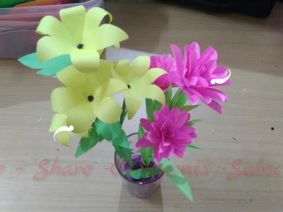 Paper rose | origami rose | origami rose flowers | paper flowers | paper rose making