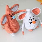PATTERN - PDF Cute Mouses