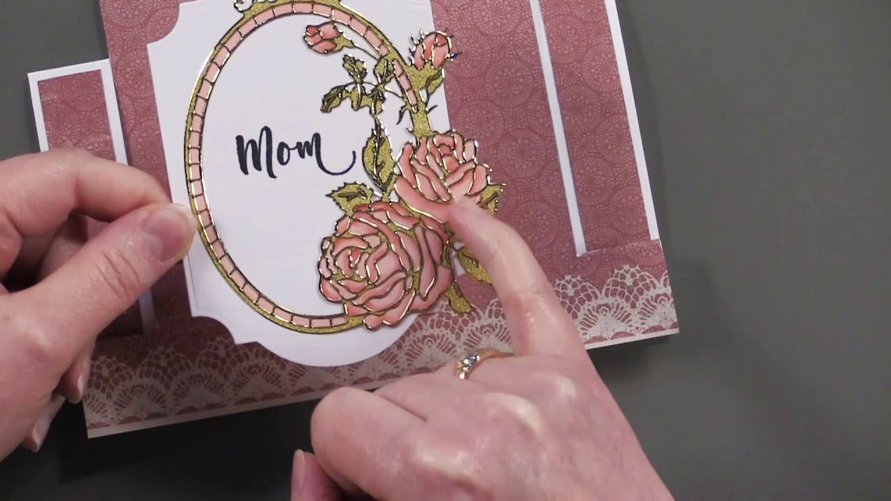 Roses & Lots of Flowers Dazzles - Paper Wishes Weekly Webisodes
