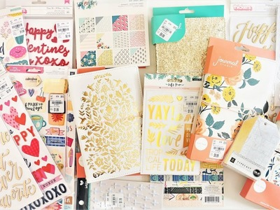 Tuesday Morning Haul! Crate Paper Journal Studio, Here and There, Wild Heart, and more!