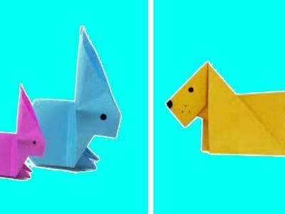 3 Easy Origami Animals
