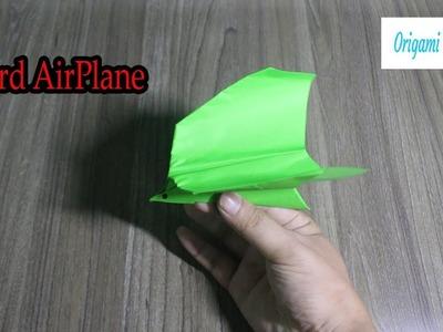 AirPlane Origami | Cách Gấp Máy Bay Hình Con Chim