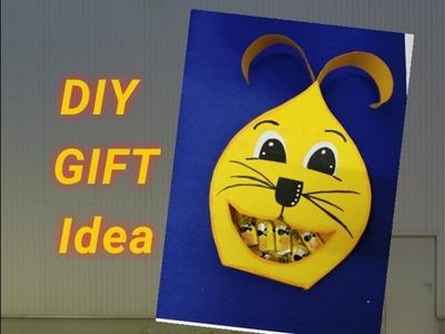 Cute Chocolate Bunny DIY Gift Idea||Handmade Gift idea||Gift ideas.
