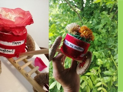 DIY #27  Tricicleta cu flori -  pentru fiica mea.Tricycle with flowers - gift for my daughter