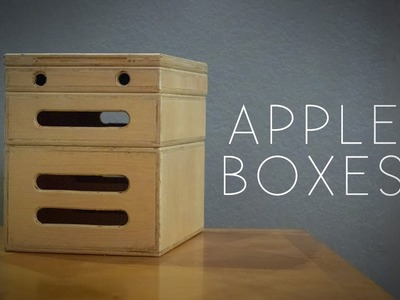 DIY Apple Boxes: The Most Versatile Tool for Photography and Filmmaking - Easy Woodworking Project