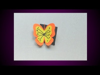 DIY Butterfly Bookmark.Easy Bookmark.Origami