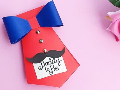 DIY Father's day Greeting card ideas \\ Handmade Father's day card