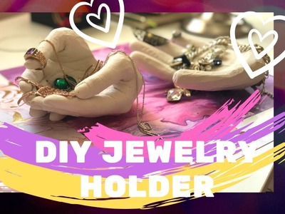 DIY holders Plaster Cast Kit Jewelry Holder Hand