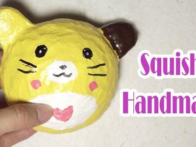 DIY Mini Bear Pancake Squishy -  How to Make Squishy bear cute | DIY Homemade Squishy Tutorial