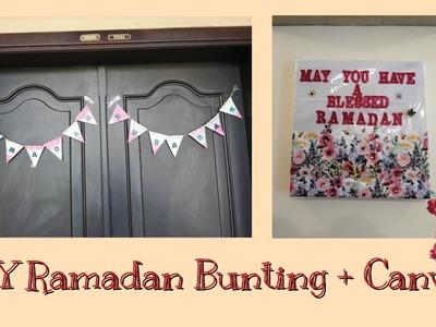 DIY Ramadan Bunting and Canvas [Ramadan Special #4]