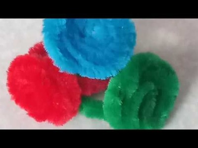 DIY: Ring. Bracelet. Necklace By using pipe cleaner's and straw's. .  for kids