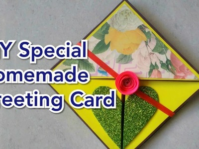 DIY Special Homemade Greeting Card for ur loved ones