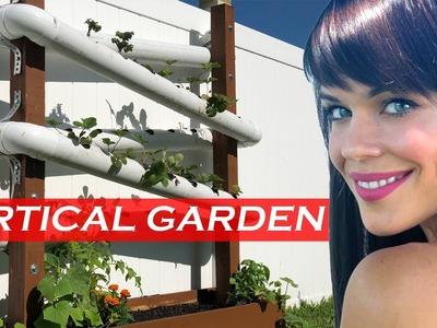 DIY Vertical Self Watering Garden