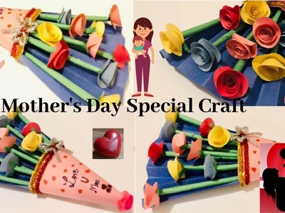 Easy Mother's Day Craft. Gift ???? to mom. Happy Mother's Day