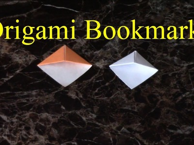 Easy Origami Bookmark (Page Corner)