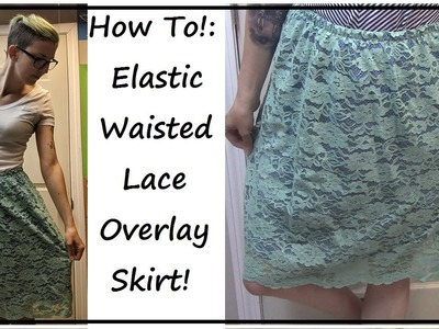 French Lace Skirt! | Make & Chat! | SEWING NERD!