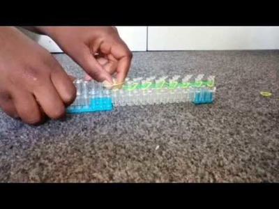 How To Do A Single Chain On The Rainbow Loom |Crafty Girl