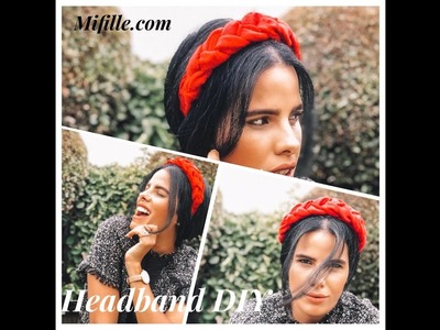 How To Make A Braided Headband DIY