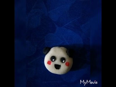 How to make easy polymer clay doll face at home