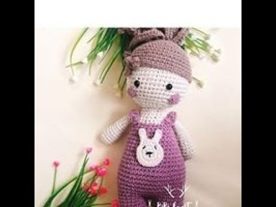 Móc Búp Bê Thỏ | Crochet Rabbit Doll | Bibi Craft