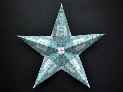 My BIG Money STAR | Dollar Origami | Idea for Father's day, Christmas |Tutorial by NProkuda