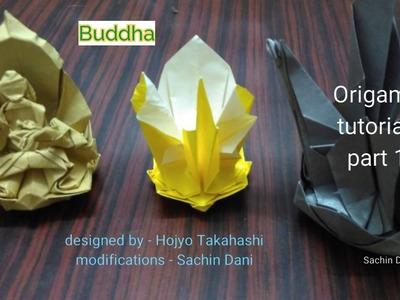 Origami Buddha Tutorial part 1
