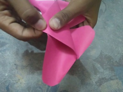 Origami butterfly very easy