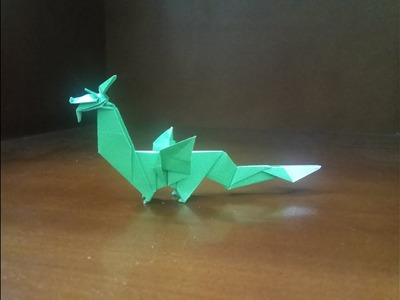 Origami Dragon Tutorial